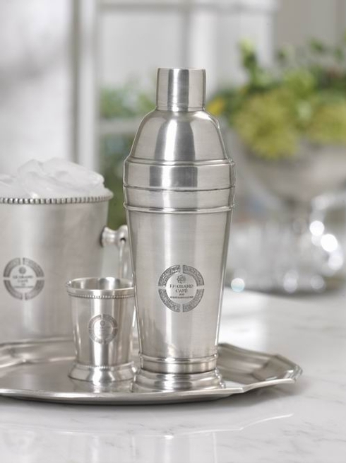 $47.00 Cafe\' Pewter Cocktail Shaker