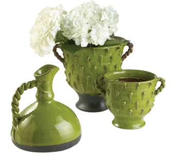 Vinci Medium Green Planter collection with 1 products
