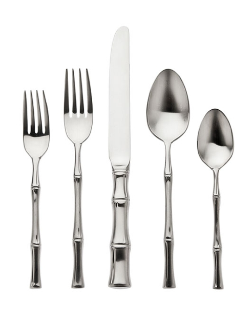 Ricci Argentieri - Bamboo Satin - 5 Piece Place Setting  collection with 1 products
