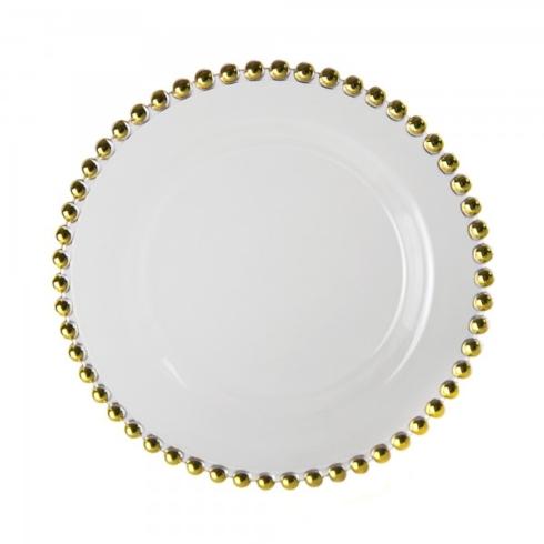 $28.00 Belmont Gold Dinner Plate