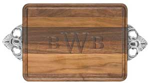 Walnut 10x16 rectangular cuttingboard collection with 1 products
