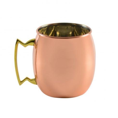Polka-Dot Penguin Exclusives   Moscow Mule Copper Mug $17.95