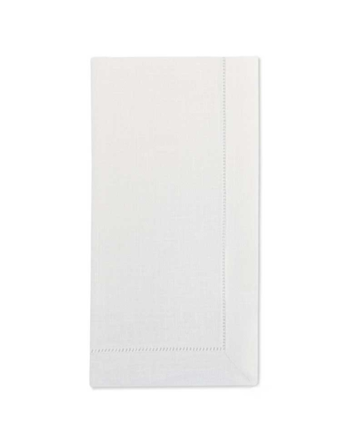 $58.00 white hemstitch napkins set/4