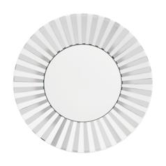 $43.00 Platinum Strip Accent/salad plate