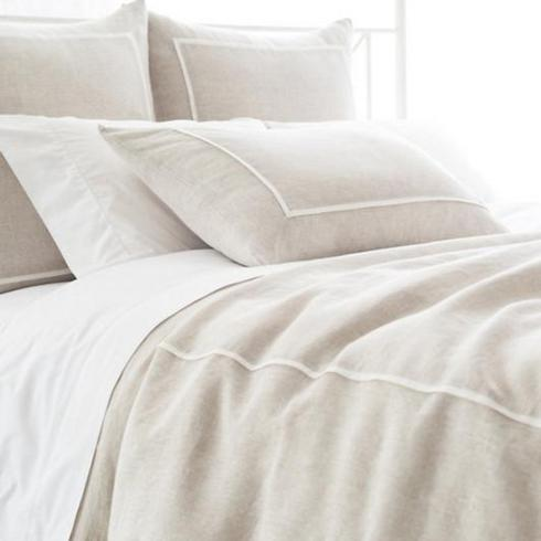 $564.00 Keaton Linen Natural Duvet Cover
