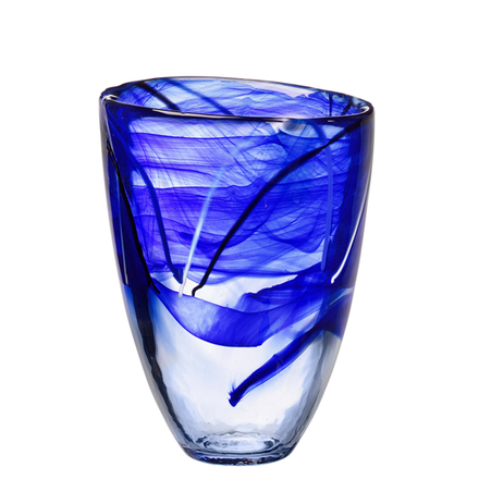 Conrast Blue Vase collection with 1 products