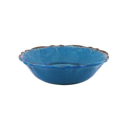 $14.95 Antiqua Blue Cereal Bowl