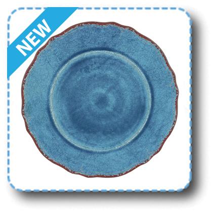 $18.00 Antiqua Blue Dinner Plate