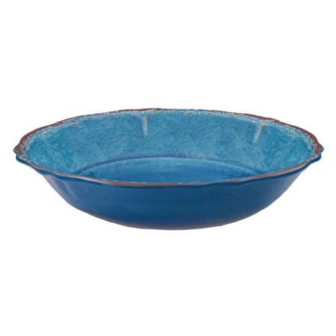 $35.00 Antiqua Blue Salad Serving Bowl