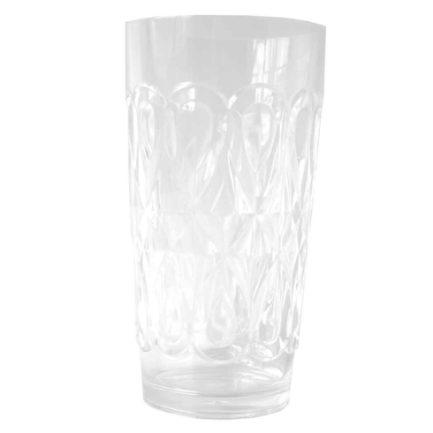 $9.25 Clear Casablanca Iced Tea Glass
