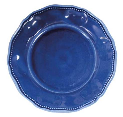 $18.25 Le Cadeaux provence blue dinner plate