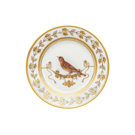 Polka-Dot Penguin Exclusives   Richard Ginori Voliere Le Bruat Salad/Dessert Plate $175.00