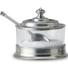 $149.00 Pewter Jam Pot