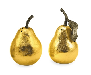 """""""Pear"""" Salt And Pepper Shakers"""