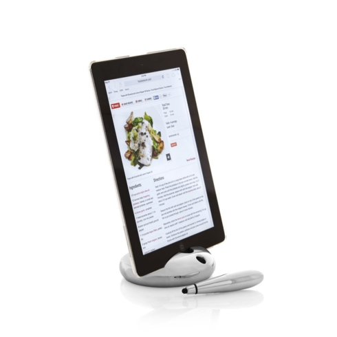 $60.00 Pebble Tablet Stand W/ Stylus
