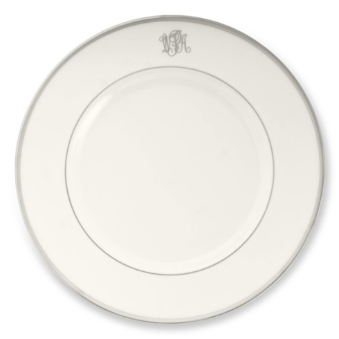 Signature Dinner Plate Monogrammed collection with 1 products