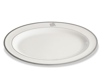 Signature Platinum Large Serving Platter collection with 1 products