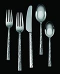 Vera Wang Hammered Flatware 5Pc Place Setting