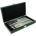 Laguiole   Stainless Steel Aluminum Handle Knives $92.50
