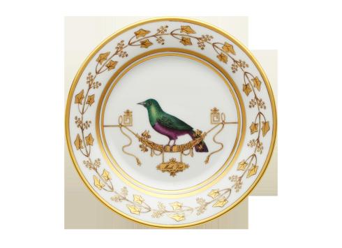$175.00 Richard Ginori Voliere Merl Verte Salad/Dessert Plate  sc 1 st  Polka-Dot Penguin & Polka-Dot Penguin Exclusives ~ Dinnerware ~ Richard Ginori Voliere ...