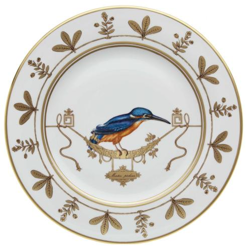 Polka-Dot Penguin Exclusives   Richard Ginori Voliere Martin Pecheur Salad/Dessert Plate $175.00