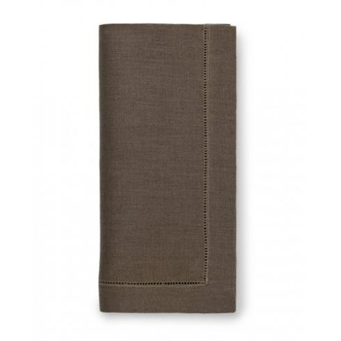 $58.00 Walnut Hemstitched Napkins set/4