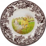 $36.95 Golden Labrador Dinner Plate