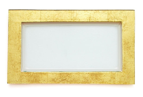 $128.00 Gold Serving Tray