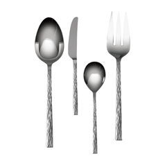 Vera Wang Hammered Four Piece Hostess Set