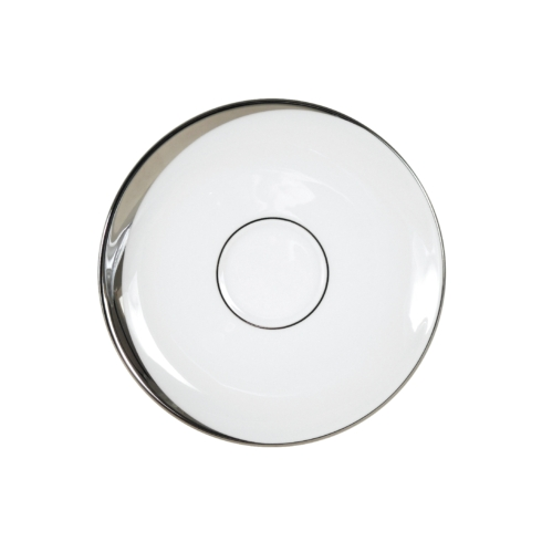 Pickard China  Crescent Crescent White Saucer $26.35