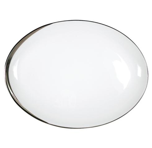 Pickard China  Crescent Crescent White Large Platter $316.00