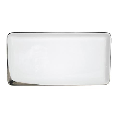 Pickard China  Crescent Crescent White Large Sushi Tray $84.00