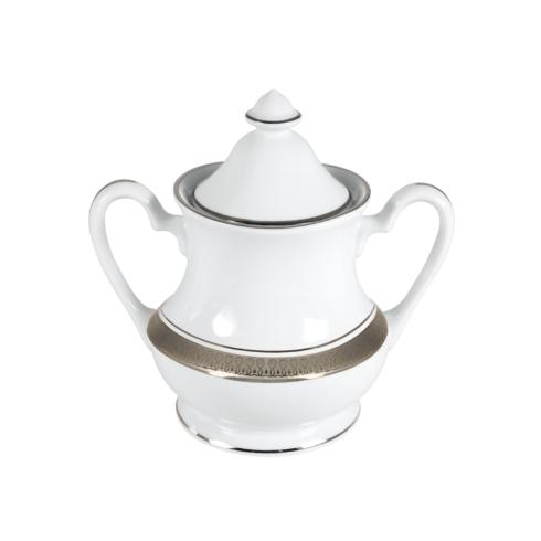 $248.00 Geneva White Sugar Bowl & Cover