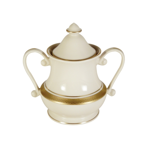 Pickard China  Palace Palace Sugar Bowl & Cover $248.00