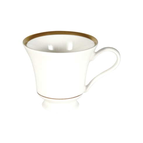 Pickard China Signature With No Monogram - Gold White Margaret Tea Cup $63.00