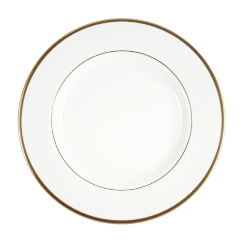 Pickard China  Signature White China Body Gold With No Monogram Salad Plate $39.00