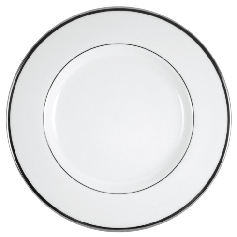Pickard China Signature With No Monogram - Platinum Ultra-White Charger Plate $105.00