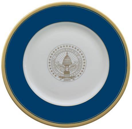 $95.00 President Barack Obama Commemorative Gift Plate for 2009 Inauguration