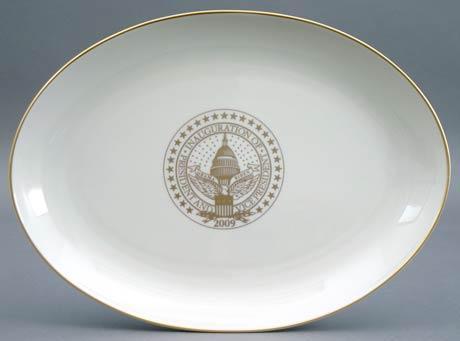 $75.00 President Barack Obama Commemorative Platter for 2009 Inauguration