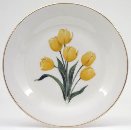 $14.40 Yellow Tulips Plate