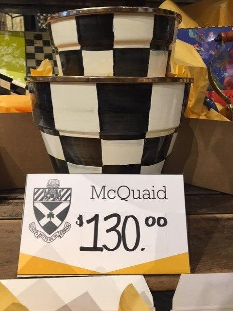 $130.00 MacKenzie-Childs Flower Pot Bundle