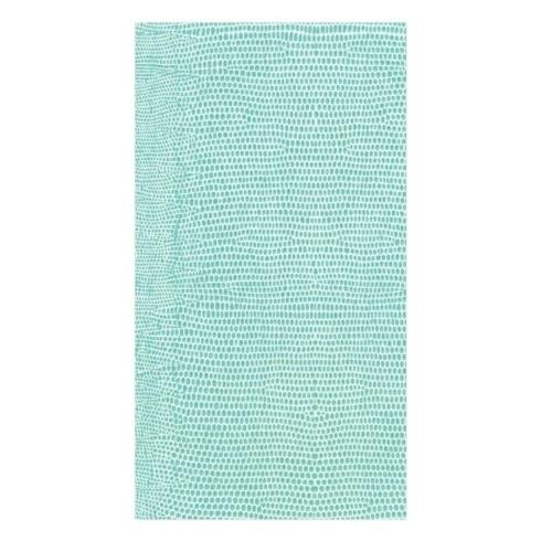 $7.50 Guest Towels - Lizard Turquoise