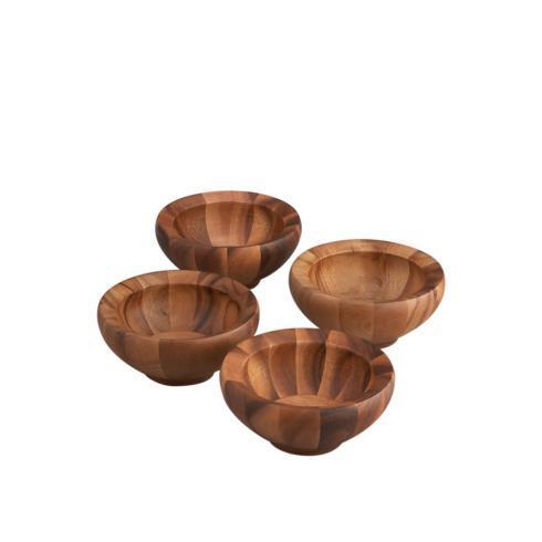 Nambé   Yaro Indiv Salad Bowl Set/4 $75.00