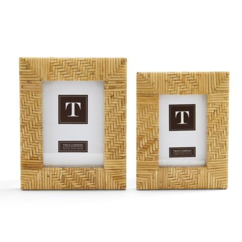 Two\'s Company   Rattan Small Frame $25.00