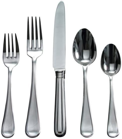 $70.00 Ascot 5 pc Stainless Steel Flatware