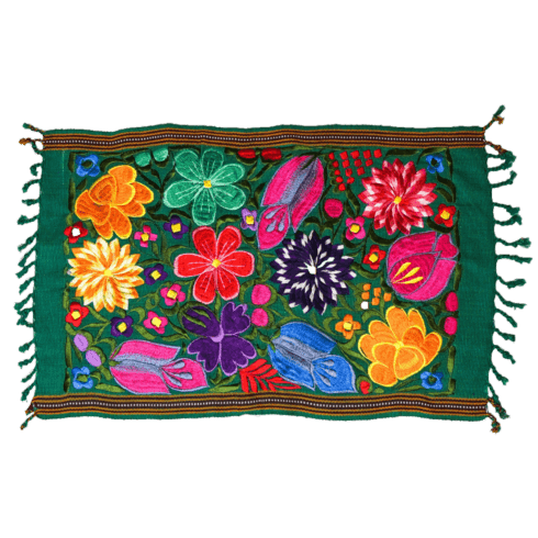 $30.00 Green Floral Placemat