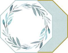 $38.00 2-Sided Octagonal Placemats-Sea
