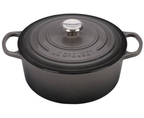Le Creuset   5.5 Qt Sig Round Dutch Oven-Oyster $360.00