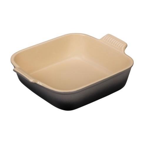 Le Creuset   3 Qt Heritage Square Dish, Oyster $50.00