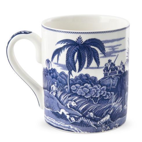 Spode  Blue Italian  Indian Sporting Mug (Blue Room) $21.40